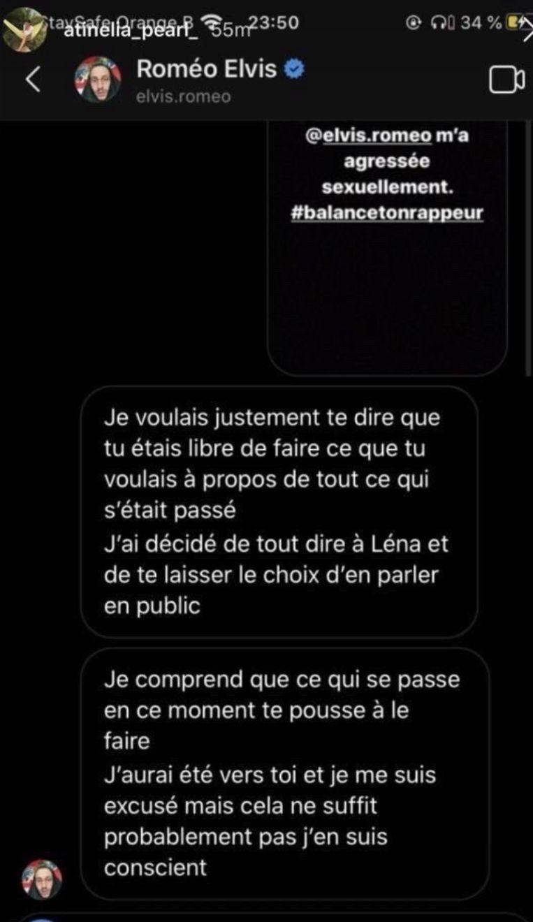 Roméo Elvis beschuldigd van aanranding. Beeld Instagram