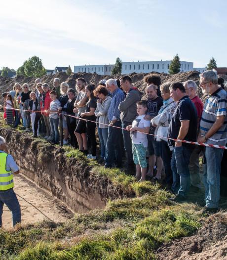 Stormloop op archeologische opgravingen in Hengelose wijk
