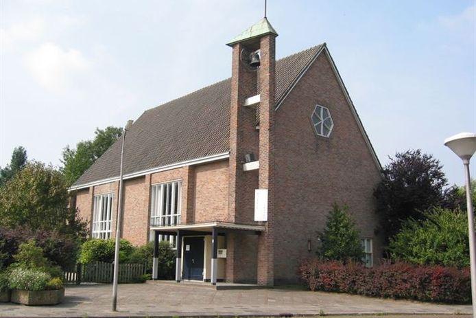 De Gereformeerde Kerk in Luttelgeest.