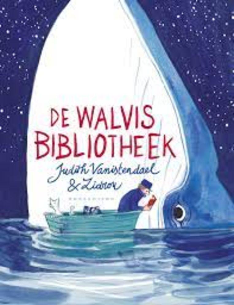 Judith Vanistendael & Zidrou, 'De Walvisbibliotheek', Oogachtend, 96 p., 24,99 euro, 8+. Beeld rv