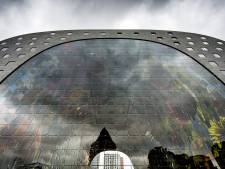 Ingreep in glaspui tegen kou in de Markthal van Rotterdam