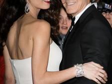 George Clooney zielsgelukkkig als man van Amal