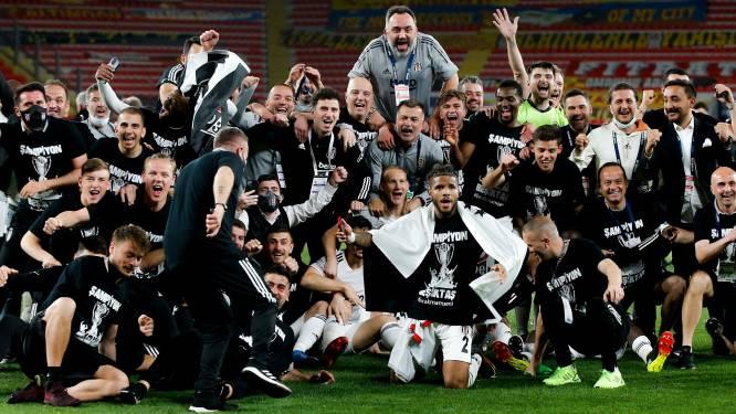 Football talk. Besiktas verovert Turkse landstitel met miniem verschil - David Hubert trekt naar Zulte Waregem