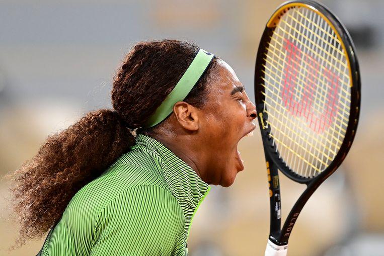 'Bad-ass performer': Serena Williams. Beeld Photo News