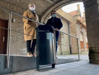 Veurne investeert ruim 130.000 euro in 180 nieuwe straatvuilbakken