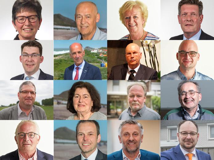 De 16 Zeeuwse lokale politici die sinds de verkiezingen van 2018 tussentijds zijn vertrokken.