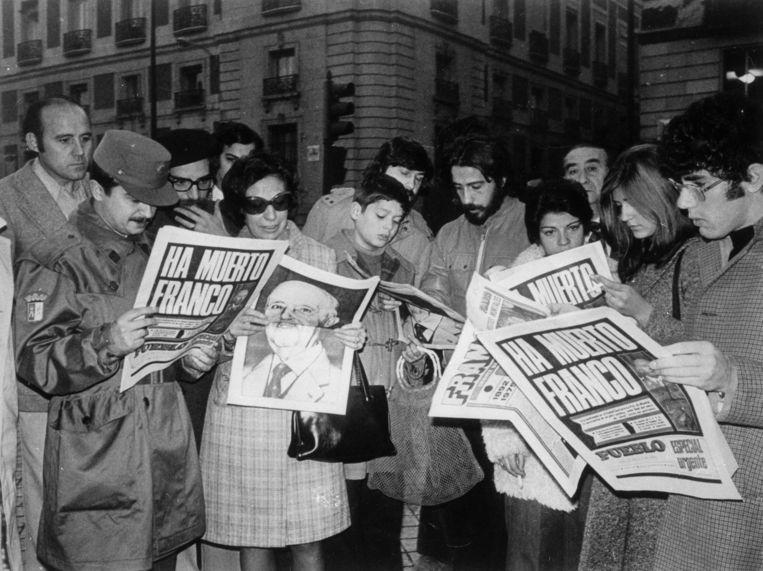 Het verhaal speelt zich af in de jaren zestig en zeventig, tijdens de nadagen van het Francoregime.   Beeld Getty Images