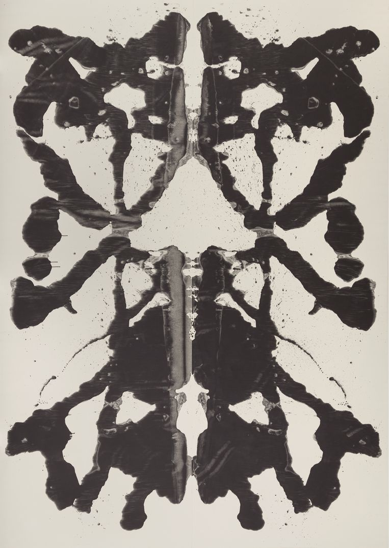 ►Rorschach, 1984. Beeld © The Andy Warhol Foundation for the Visual Arts, Inc. / Artists Rights Society (ARS) New York