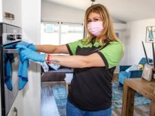 Deurklinken, badkamer en douchegebouw tot viermaal per dag: schoonmakers werken de klok rond