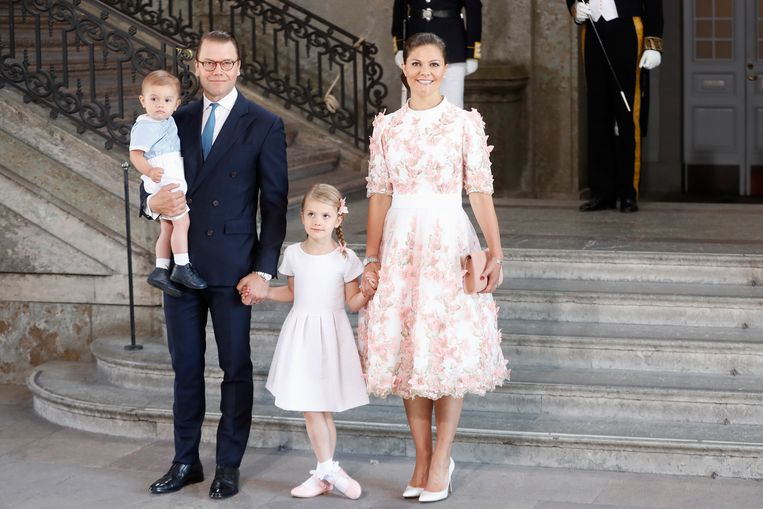 Zweedse royals klederdracht Beeld Getty Images