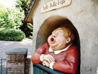 """""""Oh wat lekker! Fijn. Seks!"""" Holle Bolle Gijs lijkt het wel erg bont te maken in de Efteling, maar hij bedoelt het gelukkig niet zo"""