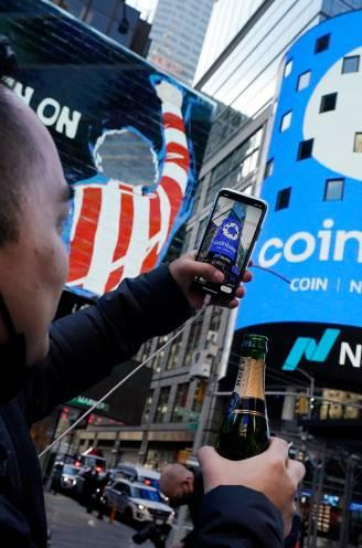 Droombeursgang Coinbase laat zien: de cryptomunt is een blijvertje