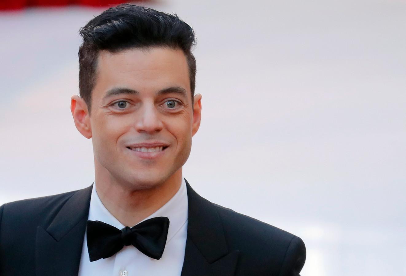 Rami Malek, sur le tapis rouge des Oscars, le 24 février 2019.