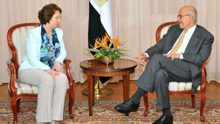Het laatste bezoek van Catherine Ashton aan Egypte dateert van 17 juli. Beeld PHOTO_NEWS
