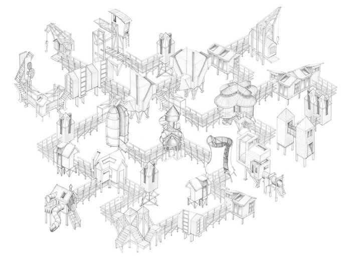 Hans van Gestel en Hugo Vrijdag zien graag een stad verrijzen in het Klokgebouw.