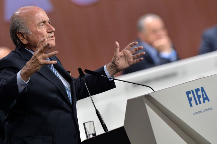 Sepp Blatter. Beeld PHOTO_NEWS