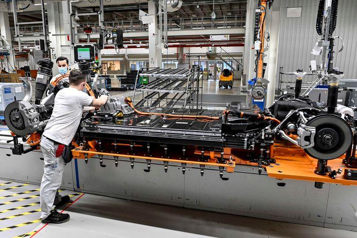 L'usine Audi à Forest (archives).