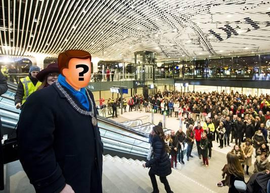 De zoektocht naar een nieuwe burgemeester voor Delft kan beginnen. De gemeenteraad wil niet verder met Bas Verkerk, wiens termijn medio 2016 afloopt.