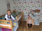 Zusjes en vriendinnen Puck en Tessel willen samen op één kamer