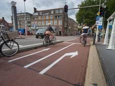 Opnieuw test op de Stadsbrug Kampen, nu met fietsers