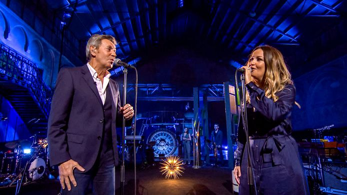 Willy Sommers en z'n dochter Annemie brengen in 'Liefde Voor Muziek' een emotioneel duet.