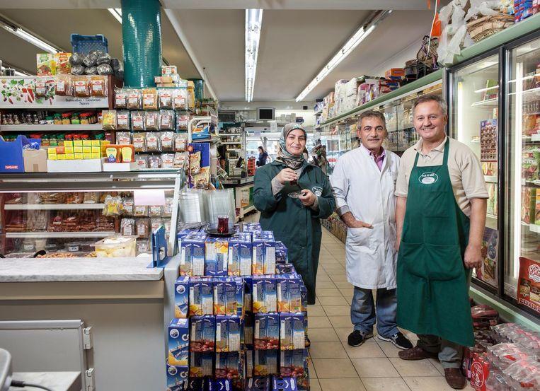 Supermarkt Helal et Gida Beeld Friso Keuris