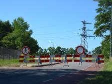 Weg afgesloten vanwege werkzaamheden bij hoogspanningscentrale in Barneveld