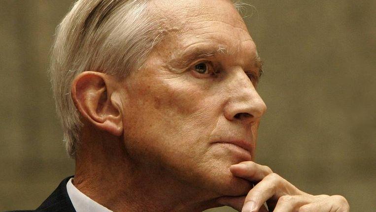 Ben Bot in zijn tijd als minister van Buitenlandse Zaken, in 2006. Beeld ANP