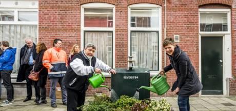 Kan tuintje naast container Delfts afvalprobleem oplossen?