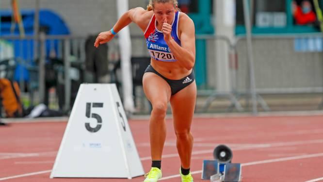 """Hanne Maudens toont met sterke 400m in Nijvel dat ze de goeie vorm te pakken heeft: """"Nog sneller lopen op BK"""""""