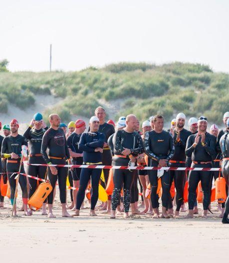 150 zwemmers wagen zich aan North Sea Swim Challenge: 3,2 kilometer zwemmen tussen Blankenberge en Zeebrugge