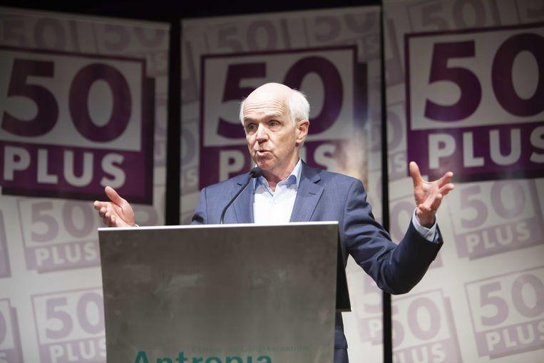 Geert Dales, ex-partijvoorzitter van 50Plus. Beeld ANP