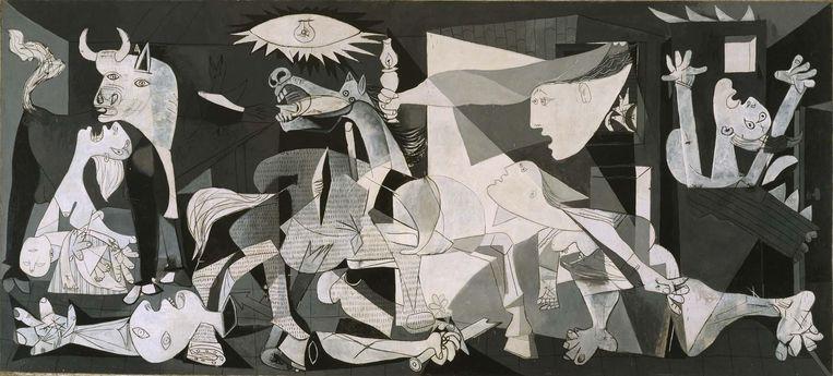 Guernica van Picasso Beeld Museo Nacional Centro de Arte Reina Sofía