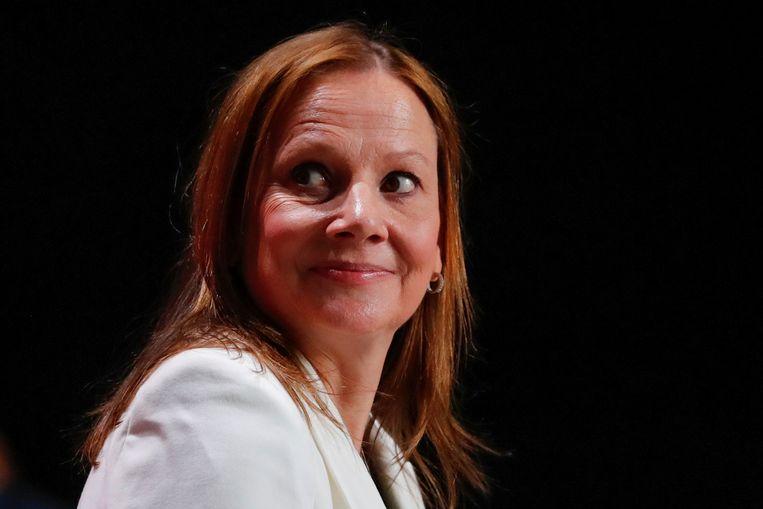 Mary Teresa Barra,  ceo van General Motors is de verliezer van de week. Beeld REUTERS