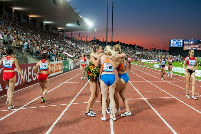 De mysterieuze situatie rond Madiea G. (niet op de foto) beïnvloedt ook de voorbereidingen van het Nederlands team op de WK in Doha. G. heeft zich met de estafetteploeg geplaatst voor deelname.