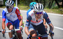 Bauke Mollema in de Giro d'Italia.