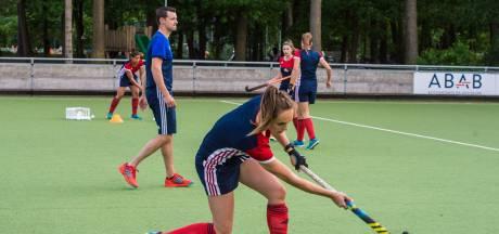 Hockeysters HC Tilburg winnen eerste play-off-duel