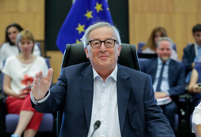 Jean-Claude Juncker, le 24 juillet 2019