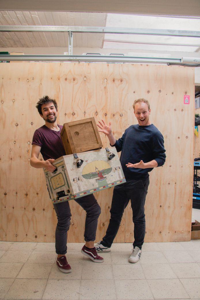 De Mechelse start-up Escape-Boxes pakt uit met een nieuwe game: The Mummy's Mystery.
