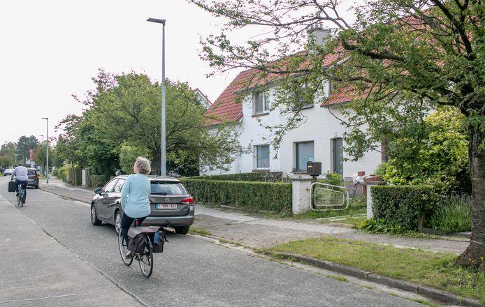 """De 'witte wijk' in Sint-Niklaas: """"Dit is een heel bijzondere wijk, met veel rust en groen, met de heel typerende witte huizen. Het karakter van de wijk als geheel willen we behouden"""", klinkt het bij schepen Wout De Meester."""