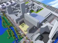 Nieuw gebouw bij CS en giga-fietsenstalling