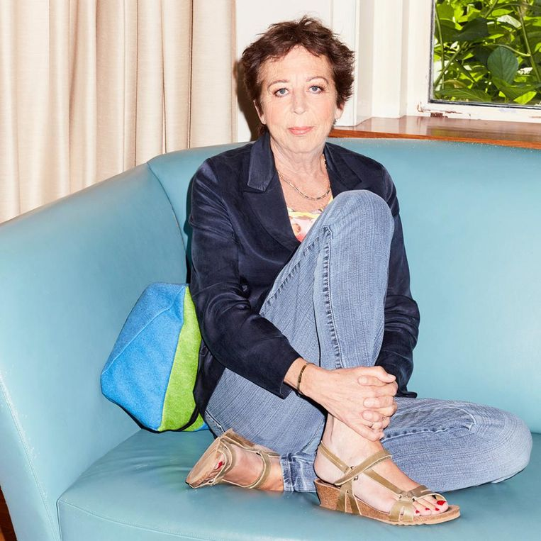 Renate Dorrestein overleed vrijdagavond 4 mei. Foto: Valentina Vos Beeld