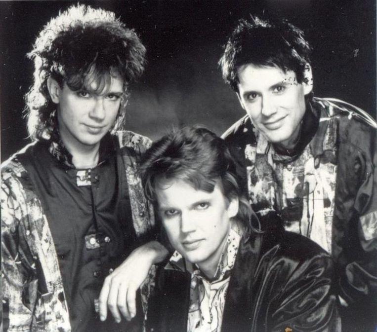 Het Goede Doel in 1987: Sander van Herk (l), Henk Westbroek (m) en Henk Temming. Beeld rv