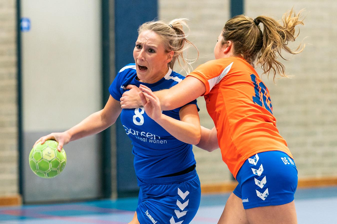 Linda Mekkelholt van HV Huissen, eerder dit seizoen.