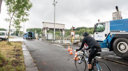 Herstel van sluis in Asper sneller klaar dan voorzien: fietsers en wandelaars kunnen weer over jaagpad
