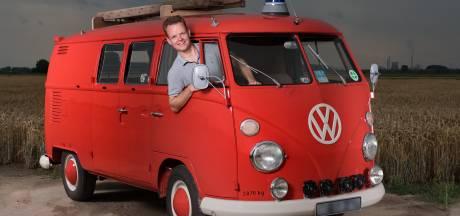 Gilbert de Heus heeft zo veel liefde voor Volkswagens dat het busje zelfs mee op huwelijksreis ging
