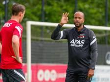 AZ-trainer Pascal Jansen laat zich inspireren door Van Gaal en Hamilton
