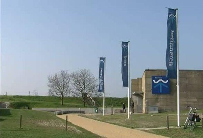 Het Watersnoodmuseum in Ouwerkerk.