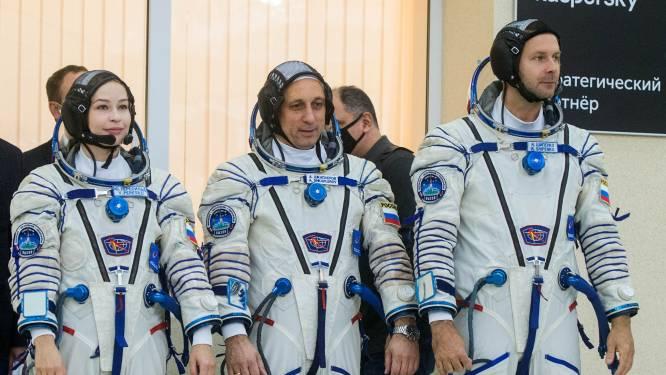 Russisch team klaar voor productie van allereerste film in de ruimte