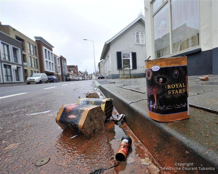 Tijdens de laatste jaarwisseling werd door vandalen voor ruim 16.000 euro schade aangericht in Oldenzaal.